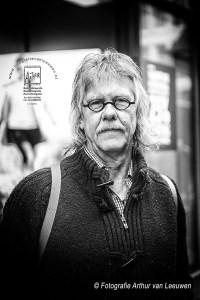 straatportret Ben Dekker Arnhem