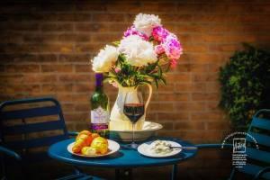 pioenroos,red-wine