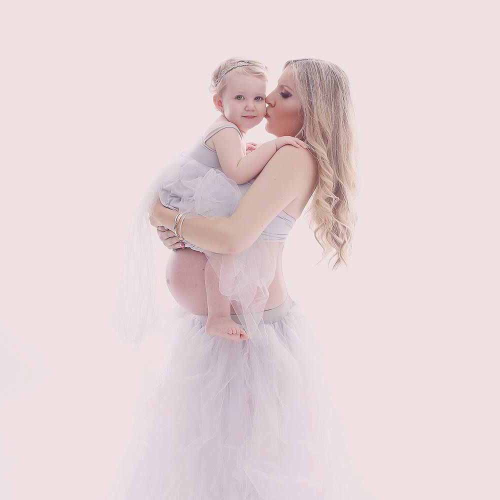 kjole til gravid fotografering Kolding