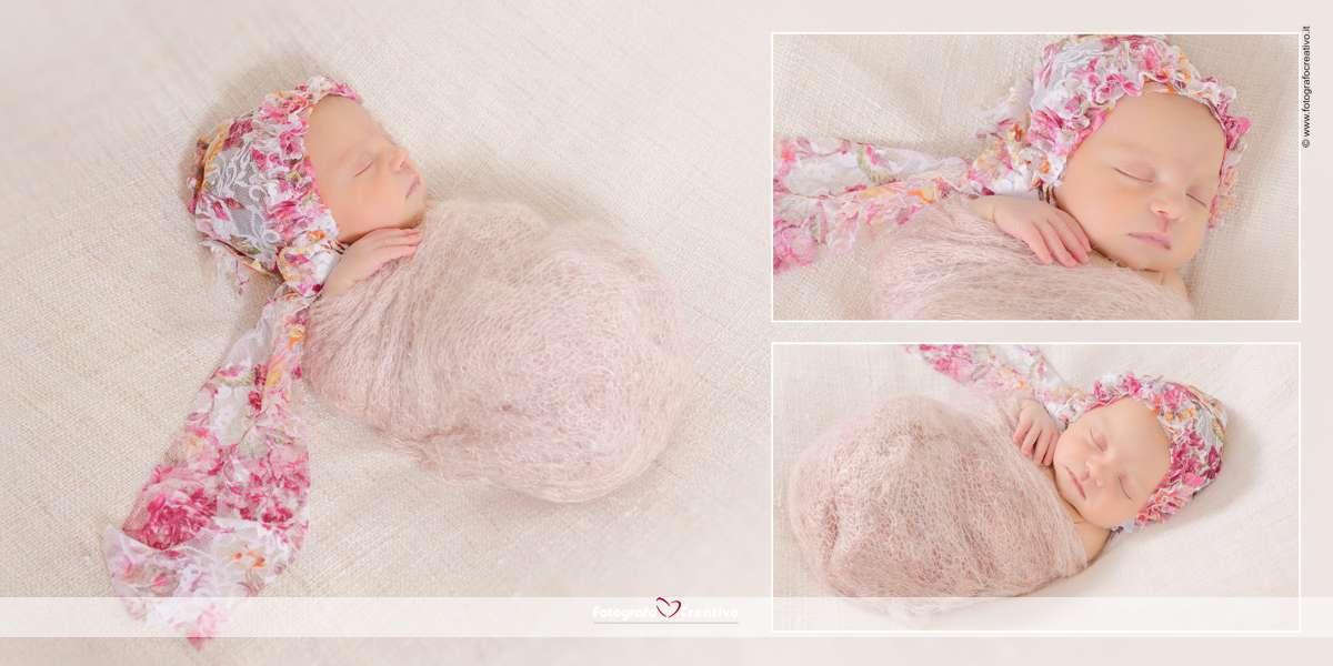 servizio fotografico neonato bari