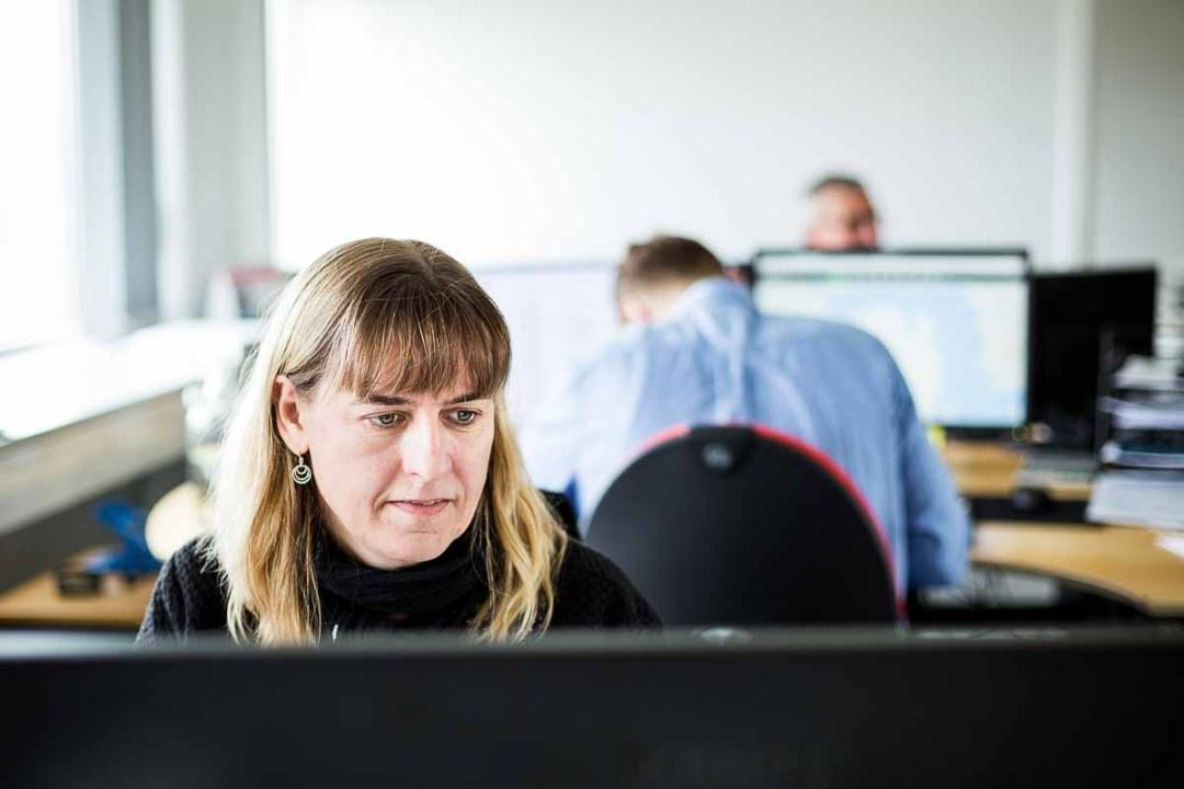 kontor arbejde Odense Ø