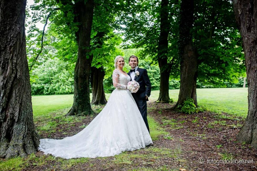 Professionel bryllupsfotograf fra Odense