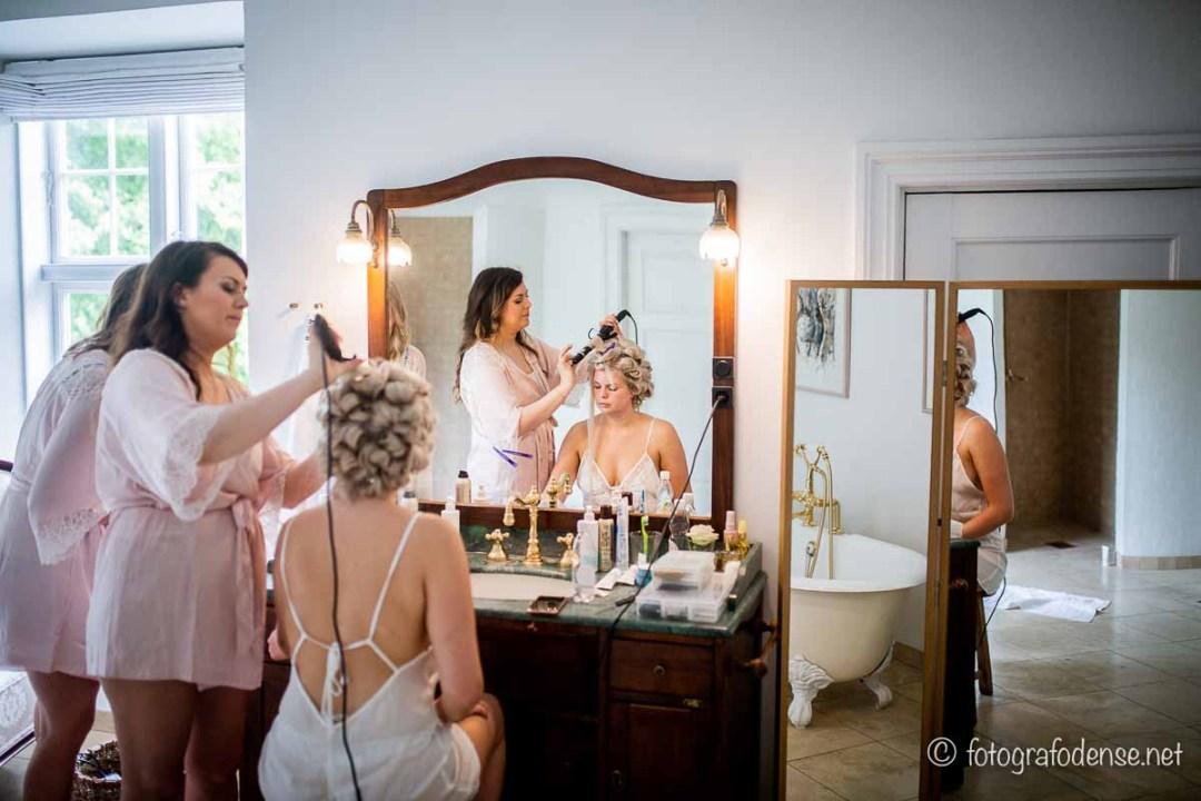 brudens forberedelse Fyn