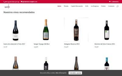Fotografías de Vinos para tienda seleccionjlpita.com