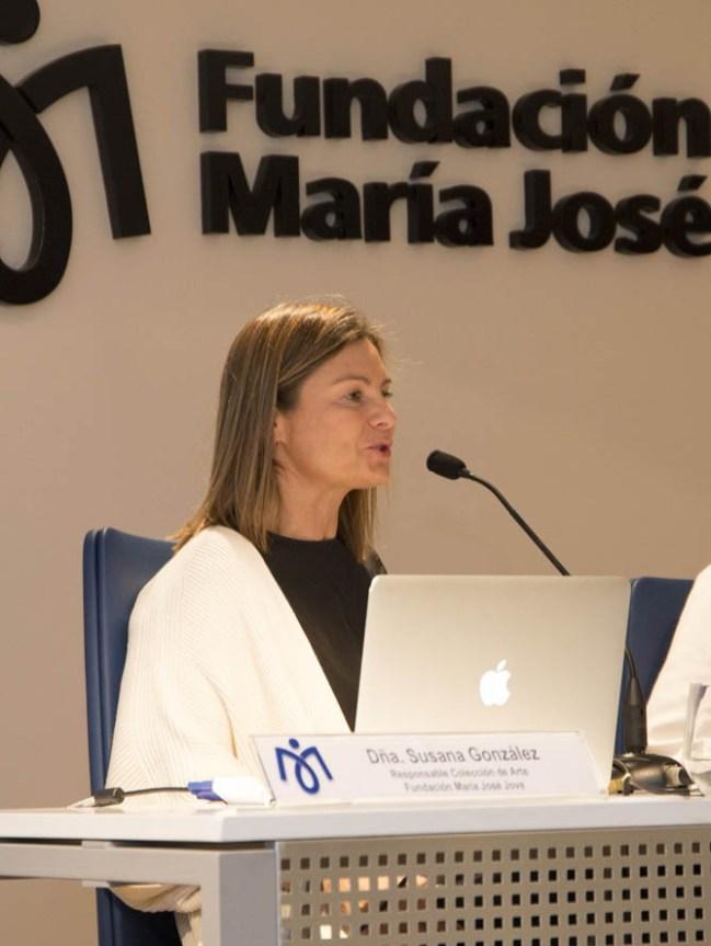 """Susana González Martínez, Responsable Colección Fundación María José Jove. """"El arte como vehículo de canalización"""""""