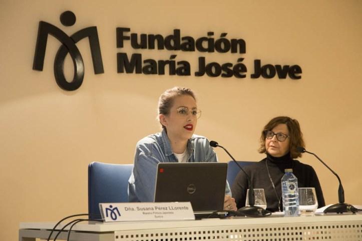 """Andrea Ruano Flores, artista plástica. Premio Fundación Villalar por sus """"Cuadernos Negros"""""""