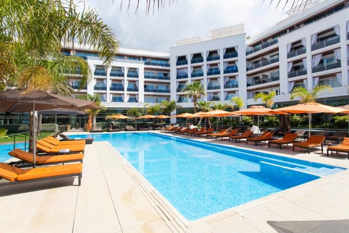 Piscina Hotel Aguas de Ibiza