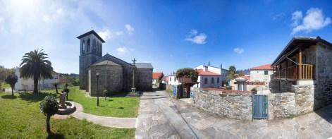 Iglesia y Albergue en Palas de Rei