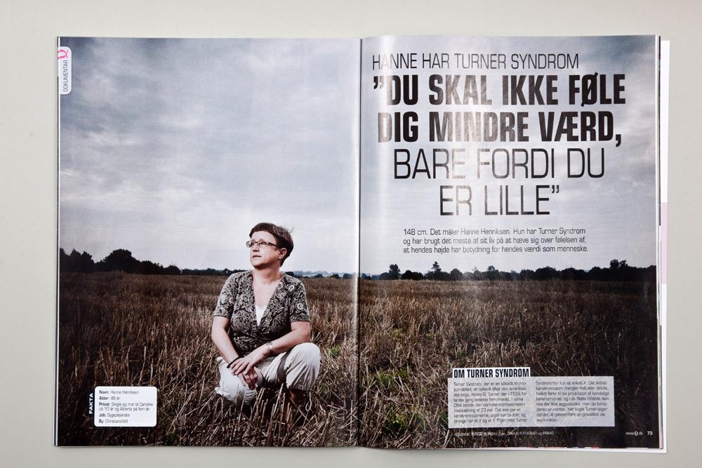 Reklamefoto til Q-magasin