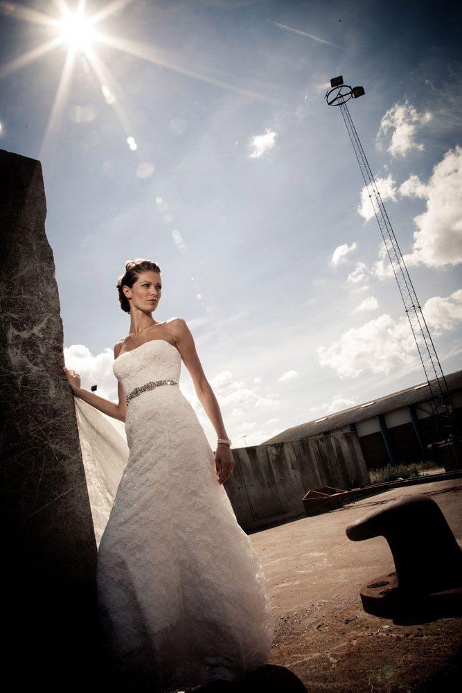 fotograf til at forevige et bryllup