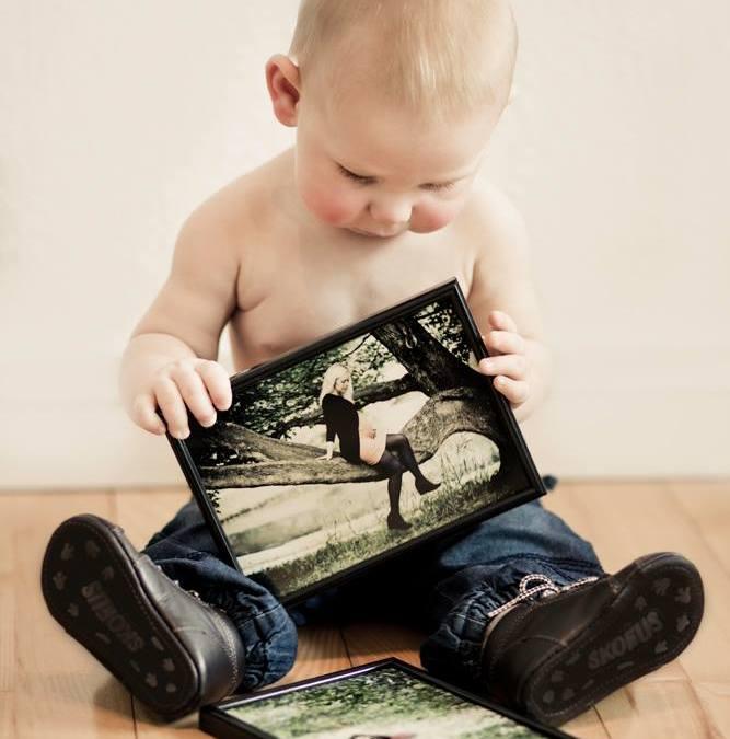 Fotografering af mor og baby