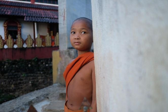 Malý buddhistický mnich, klášter Ko Yin Lay