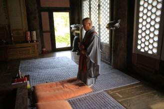 Modlitba v klášteře Gaemsa