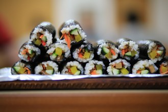 Vypadá to jako suši, ale chybí ryby...