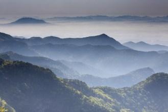 Magické horizonty hor nad klášterem...