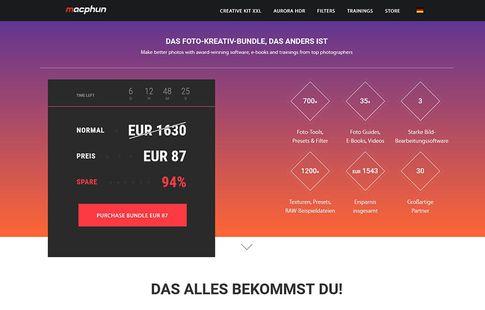 """macphun """"Creative Kit XXL"""" zum Angebotspreis"""