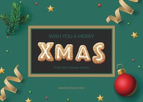 Free Christmas Cards Make Your Own Christmas Cards