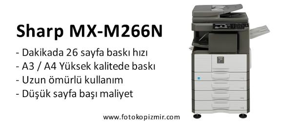 Sharp MX-M266N İzmir Manisa