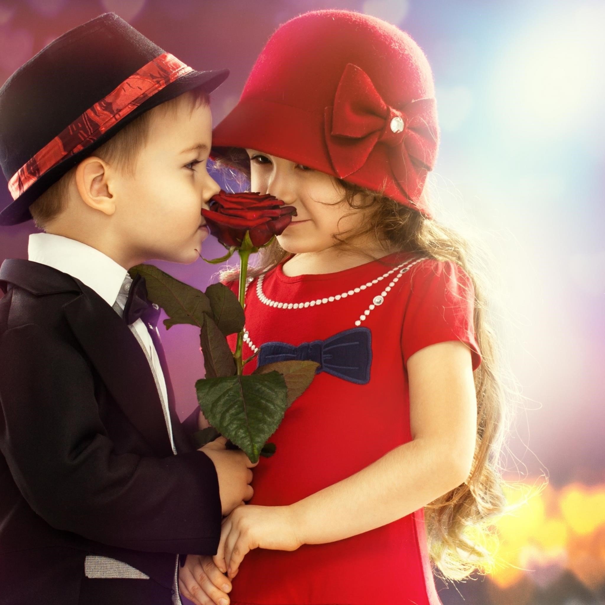 Cute Child Couple Wallpaper Rich Image And Wallpaper