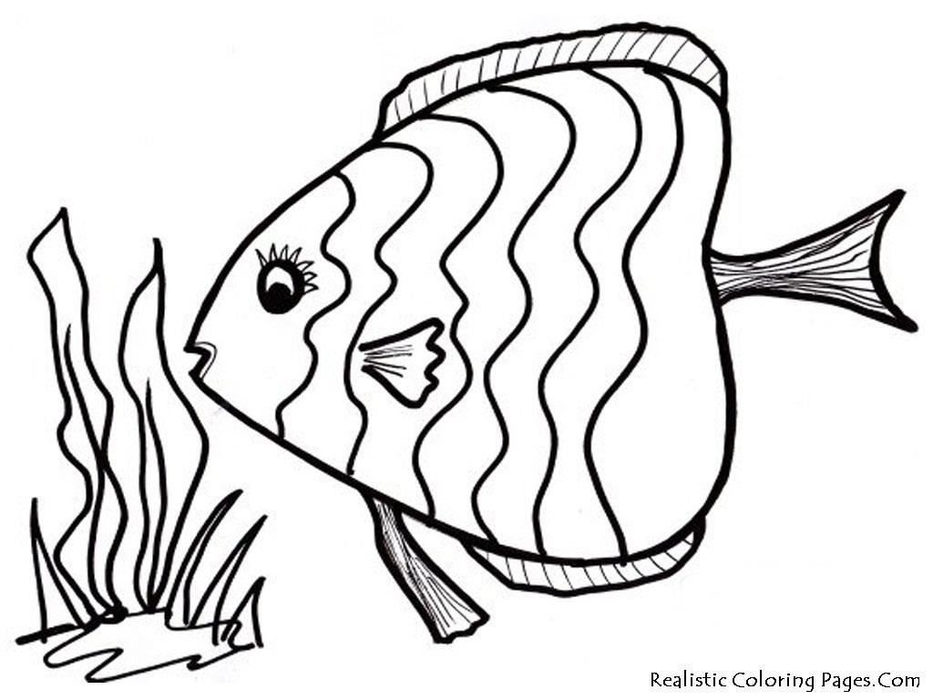 Fish Coloring Pages Fotolip Rich Image And Wallpaper