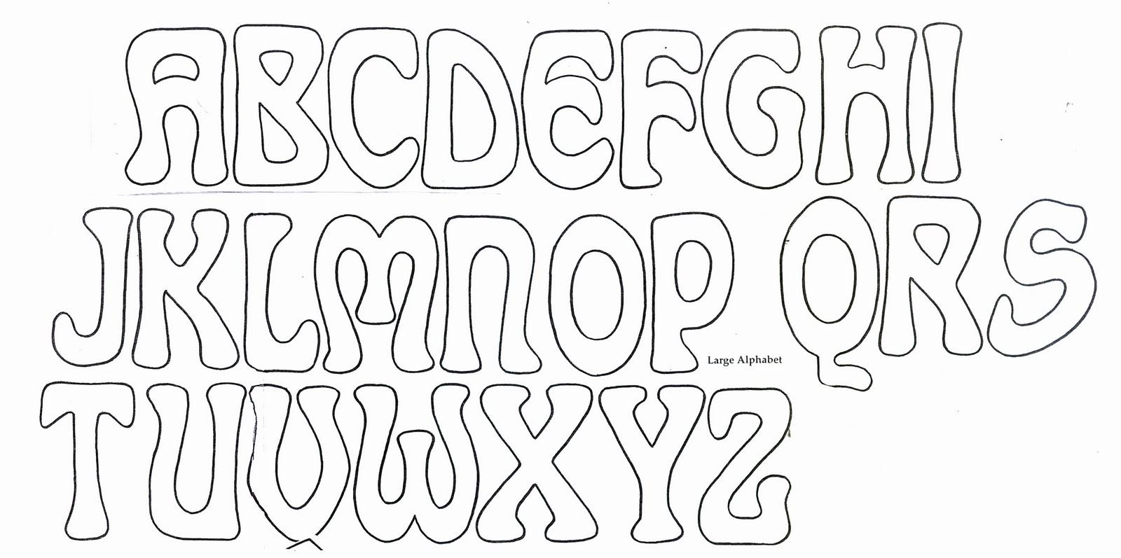 Fancy Bubble Letters