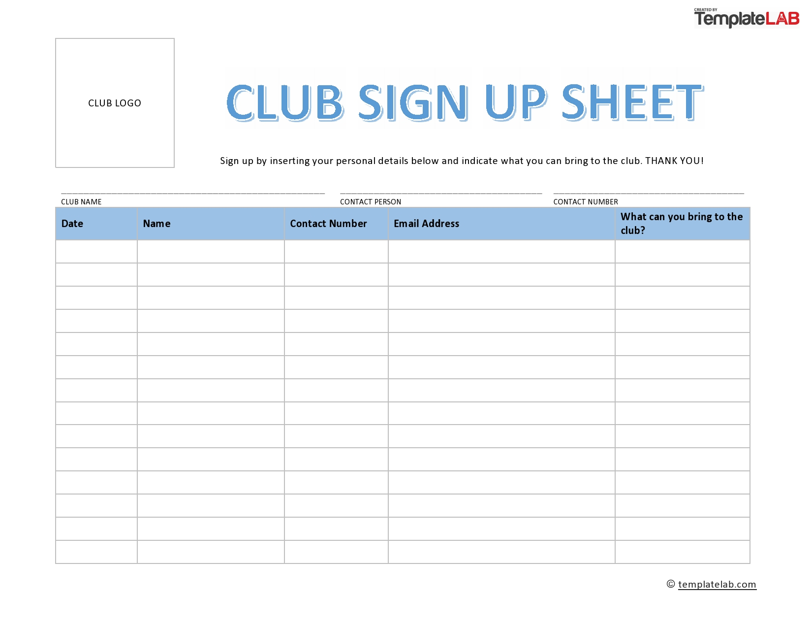 Why Should I Create A Sign Up Sheet