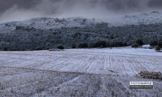 Spanish snowy mountains