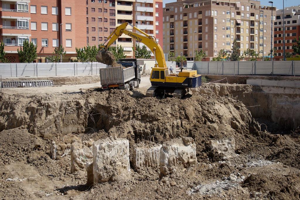 Cimentación Torre Proconsa
