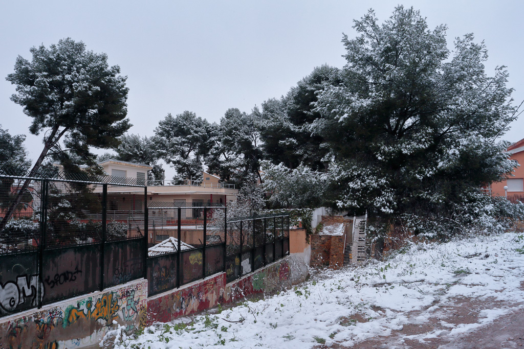 Nieve en Santo Ángel