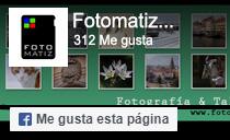 Me gusta la página de Facebook de Fotmatiz