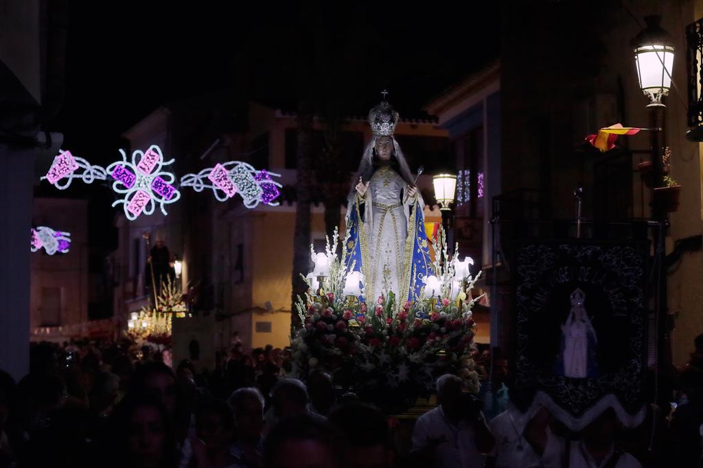 la Virgen de la Cabeza en Ojós