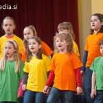 Območna revija otroških pevskih zborov Mladina poje 2012, Maribor, 1.koncert