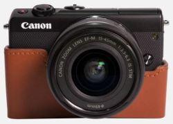 Canon EOS M100 - Nero + Bordeaux