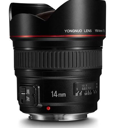 Yongnuo 14mm f2.8