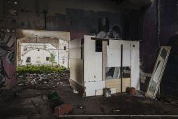Gloria Guglielmo e Marco Passaro_mush rooms, costruzioni spontanee nell'ex fabbrica_2018