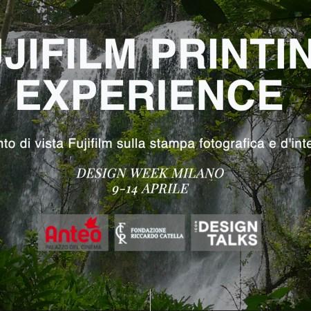 FUJIFILM PRINTING EXPERIENCE