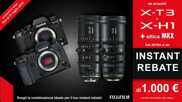 Fujifilm X-T3 X-H1 instant rebate