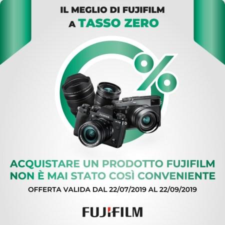 FujiFilm FINANZIAMENTO TASSO ZERO