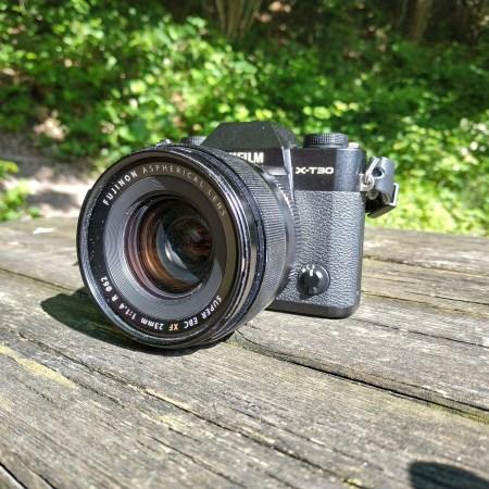 FujiFilm X-T30 + Fujinon XF 23mm f1.4 R