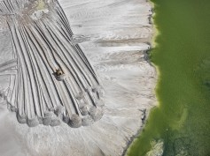 Phosphor Tailings Pond - Edward Burtynsky