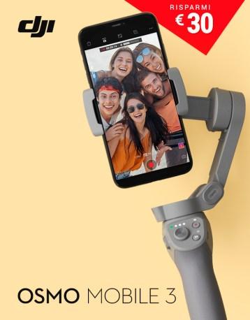 DJI GoCamera Offerte Pasqua Osmo Mobile 3
