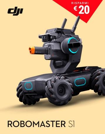 DJI GoCamera Offerte Pasqua Robomaster S1