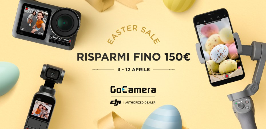 GoCamer DJI Offerte Pasqua