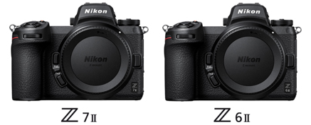 Le nuove mirroroless Nikon Z 6II e Nikon Z 7II a pieno formato
