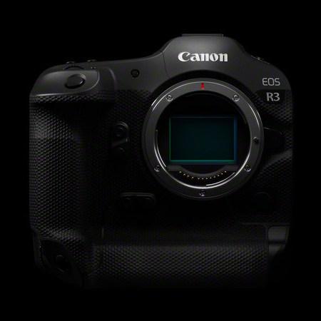 Nuova Canon EOS R3 Mirrorless per ottiche RF