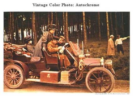 Resultado de imagen para Fotos de Auguste Lumière presenta la fotografía en color