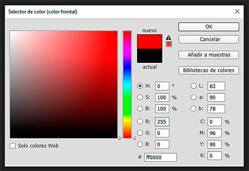 Rojo puro