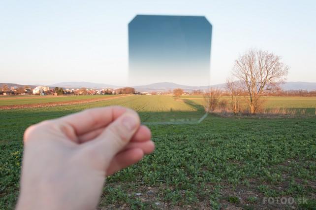 Filter HITECH v reálnych svetelných podmienkach
