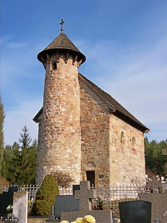 Kostolík v Klížskom Hradišti (foto: Ľubomír Šiška)