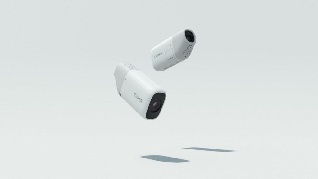 Das Design der Canon PowerShot ZOOM kombiniert Benutzerfreundlichkeit und Mobilität und ähnelt dem in der Naturbeobachtung gerne verwendeten Spektiv.